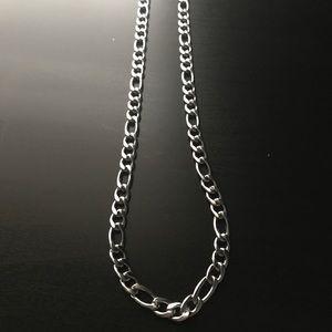 Silver Figaro Chain 18 Inch
